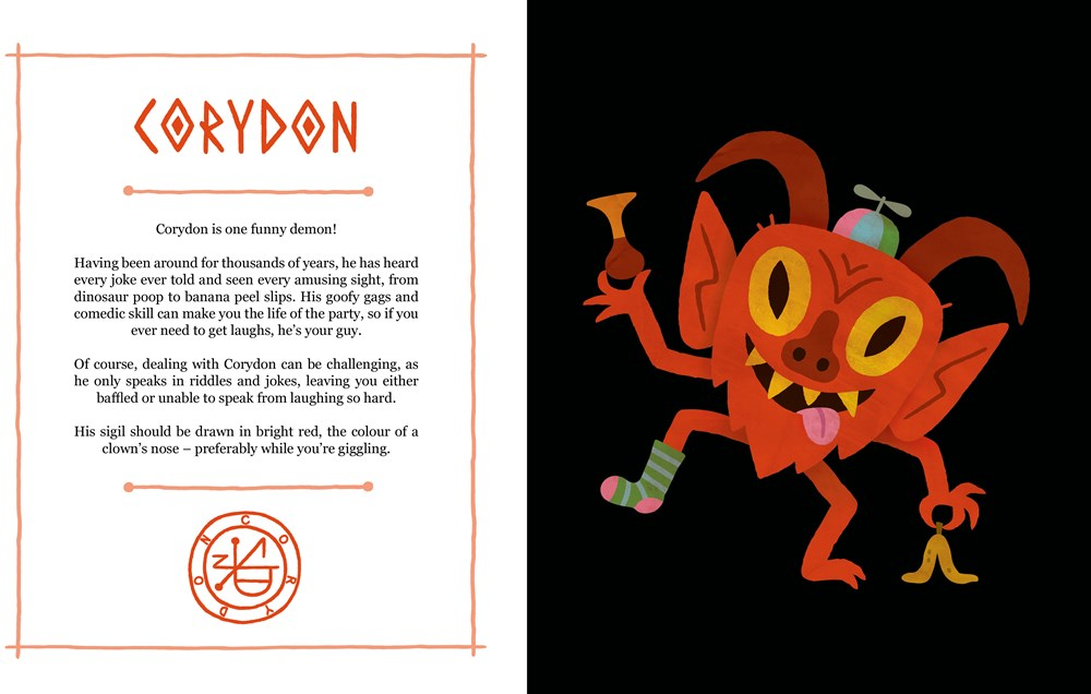 """A Children's Book of Demons"" Teaches Children How to Summon Demons"