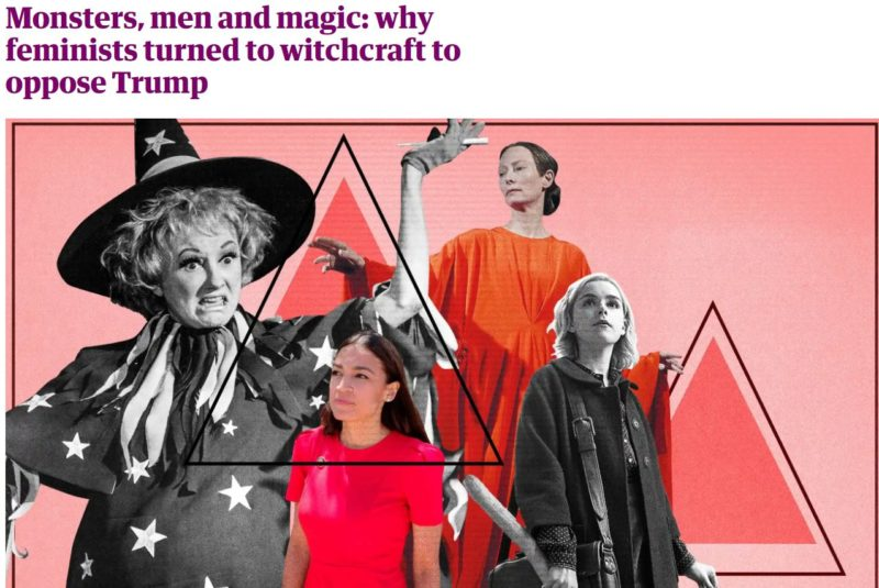 2019 12 20 14 46 21 Monsters men and magic why feminists turned to witchcraft to oppose Trump Li e1576871507718 Greta, Boomers and Witchcraft: The Hidden Agendas of 2019