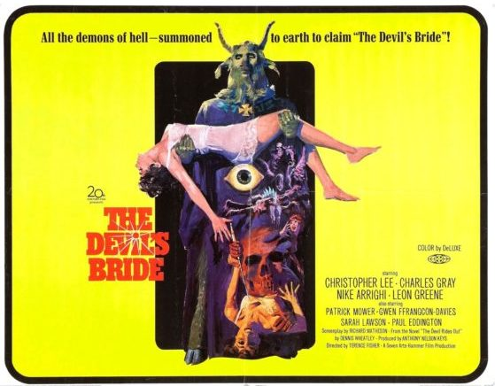 Christopher Lee Describes the Power of Satanic Rituals in 1975 Video