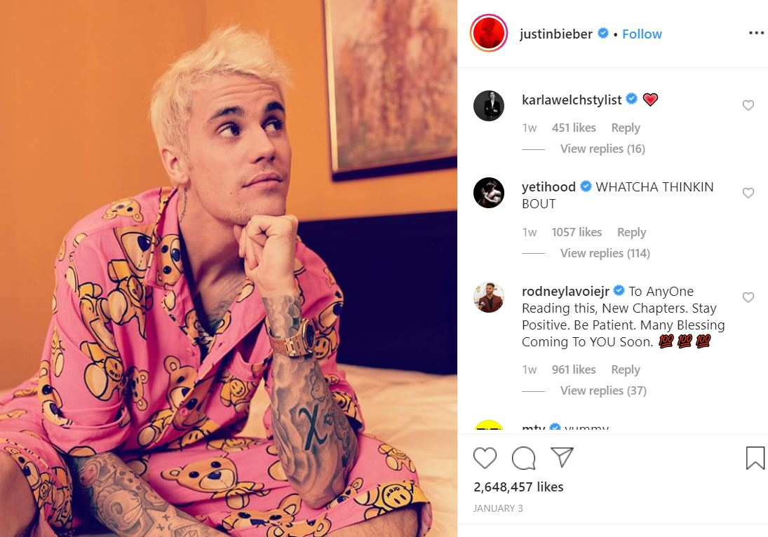 """2020 01 15 15 31 31 Justin Bieber @justinbieber • Instagram photos and videos Why is Justin Bieber Tagging Babies """"Yummy"""" on Instagram? The Answer is Sickening."""