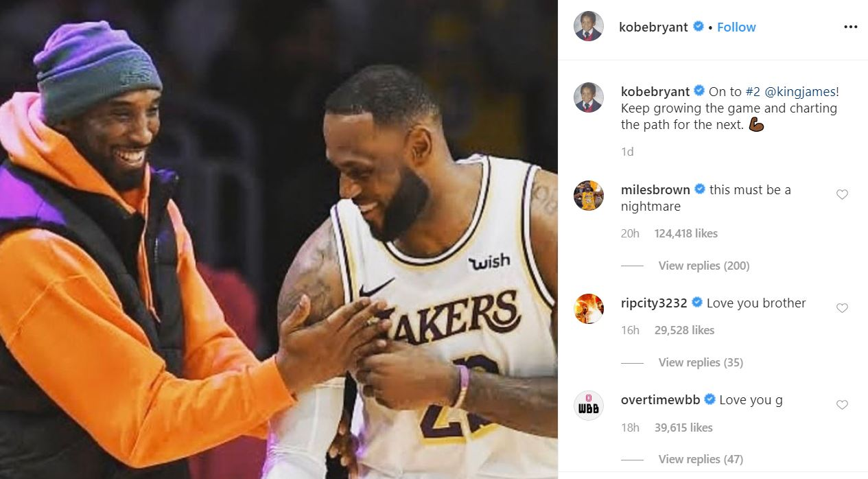 2020 01 27 13 12 31 Kobe Bryant @kobebryant • Instagram photos and videos 1 The Eerie Synchronicity Surrounding Kobe Bryant's Death