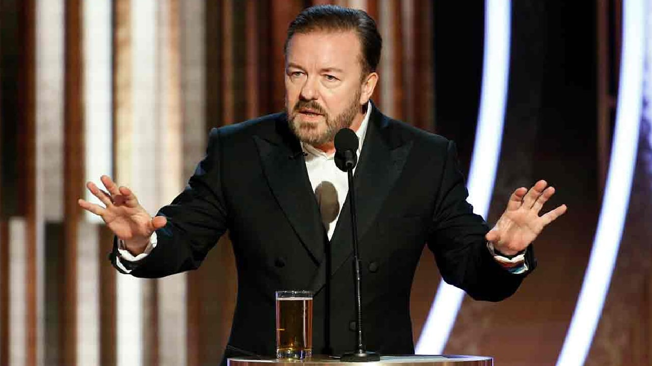 We Need to Talk About That Ricky Gervais Monologue at the Golden Globes
