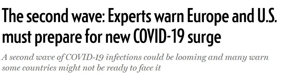 """2020 05 26 16 38 39 The second wave Experts warn Europe and U.S. must prepare for new COVID 19 surg The Simpsons' Clip About a """"Cat Flu"""" Was Incredibly Prophetic"""