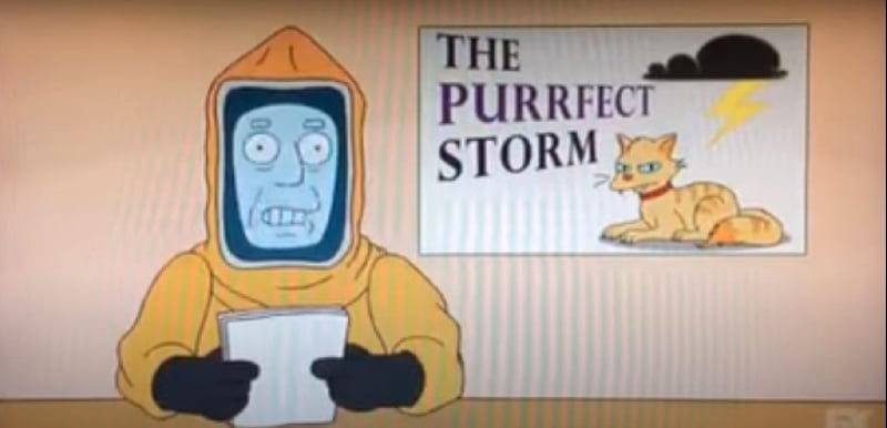 """simpsonsflu4 The Simpsons' Clip About a """"Cat Flu"""" Was Incredibly Prophetic"""