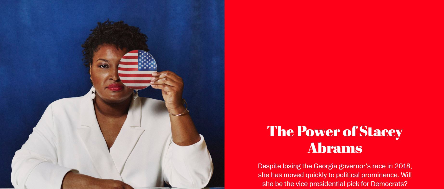 2020 05 17 07 35 16 Stacey Abrams has ascended to political prominence. How has she harnessed so muc Symbolic Pics of the Month 06/20