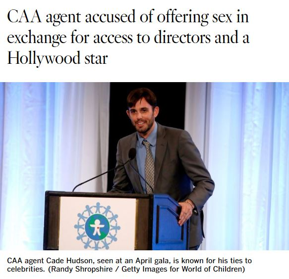 2020 07 29 15 38 11 CAA agent accused of offering sex in exchange for access to directors and a Holl Something is Terribly Wrong With Britney Spears' Instagram Account
