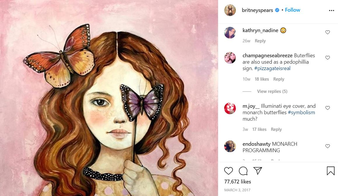 brit14 Something is Terribly Wrong With Britney Spears' Instagram Account