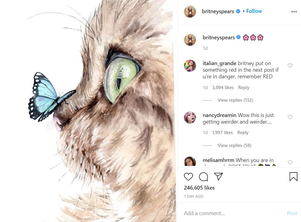brit17 Something is Terribly Wrong With Britney Spears' Instagram Account