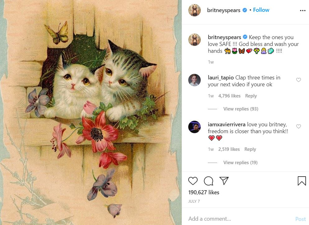 brit18 Something is Terribly Wrong With Britney Spears' Instagram Account