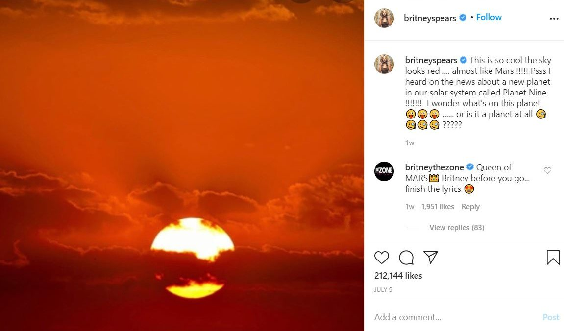 brit5 e1596042147663 Something is Terribly Wrong With Britney Spears' Instagram Account