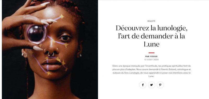 2020 08 23 15 45 39 Lunologie Comment poser ses intentions avec Yasmin Boland Vogue Paris e1598367573370 Symbolic Pics of the Month 08/20