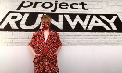 "leadrunway A 2019 ""Project Runway"" Contestant Named Kovid Presented a Facemask Outfit (video)"
