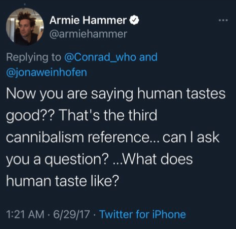 hammer9 e1610997693805 Armie Hammer, Cannibalism and the Sickness of the Elite