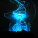 """leadneedle The New Year's Eve """"Virtual Light Show"""" at the Seattle Space Needle Was Highly Symbolic"""