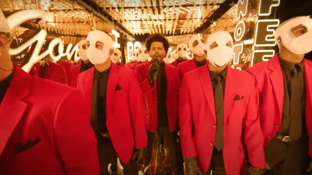 leadweekndsuper2 The Occult Meaning of The Weeknd's Super Bowl Performance