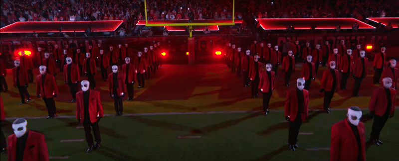 weekndsuperb11 The Occult Meaning of The Weeknd's Super Bowl Performance