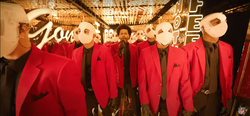 weekndsuperb5 The Occult Meaning of The Weeknd's Super Bowl Performance