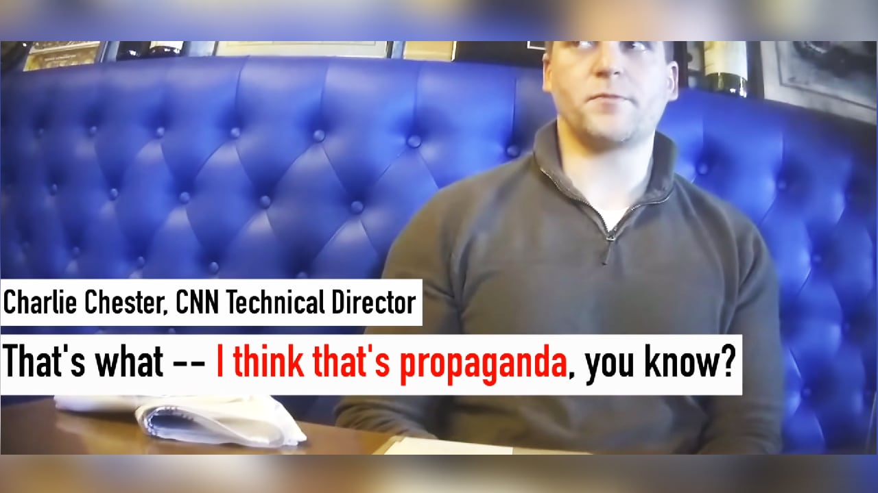 "leadcnn We Need to Talk About That CNN Director Admitting That His Network is ""Propaganda"" (video)"