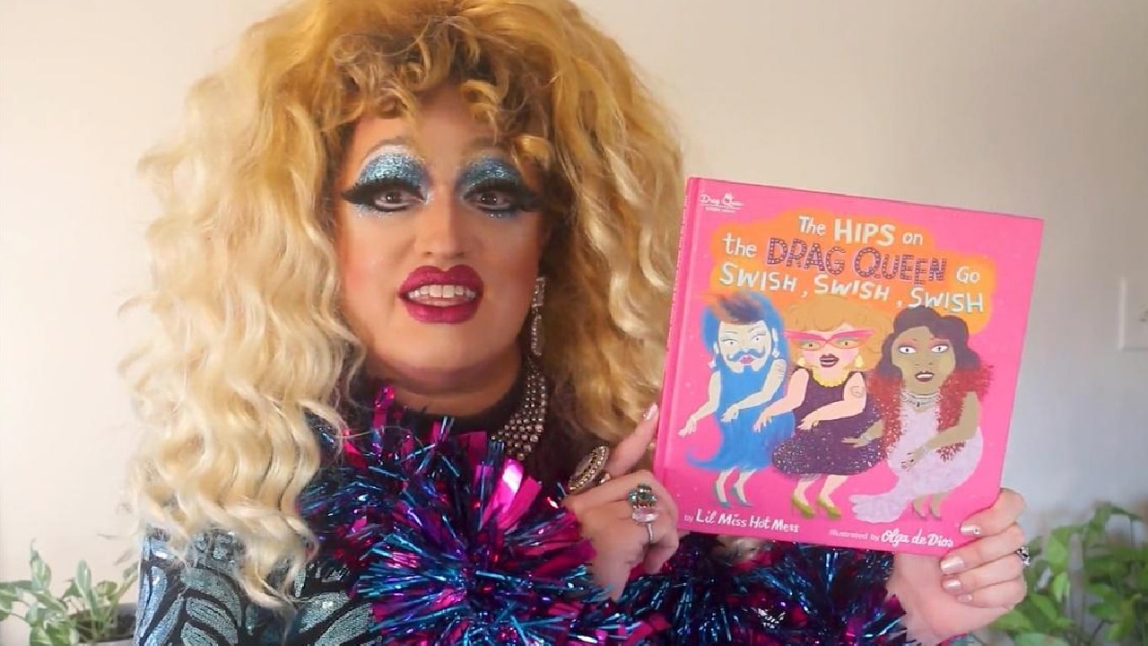 """leaddrag """"We Might Have Some Drag Queens in Training"""": PBS Children's Show Features Dancing Drag Queen"""