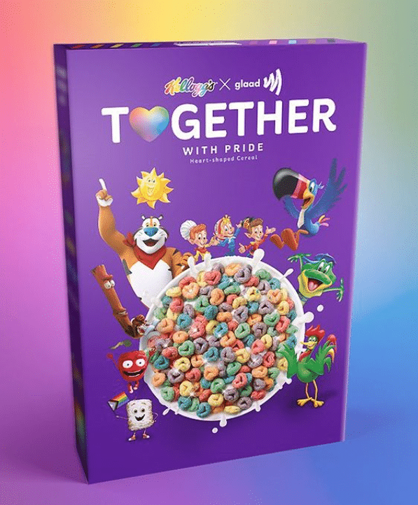 2021 05 25 20 24 13 Kelloggs GLAAD Invite Children to Create Your Own Pronouns on Cereal Symbolic Pics of the Month 06/21