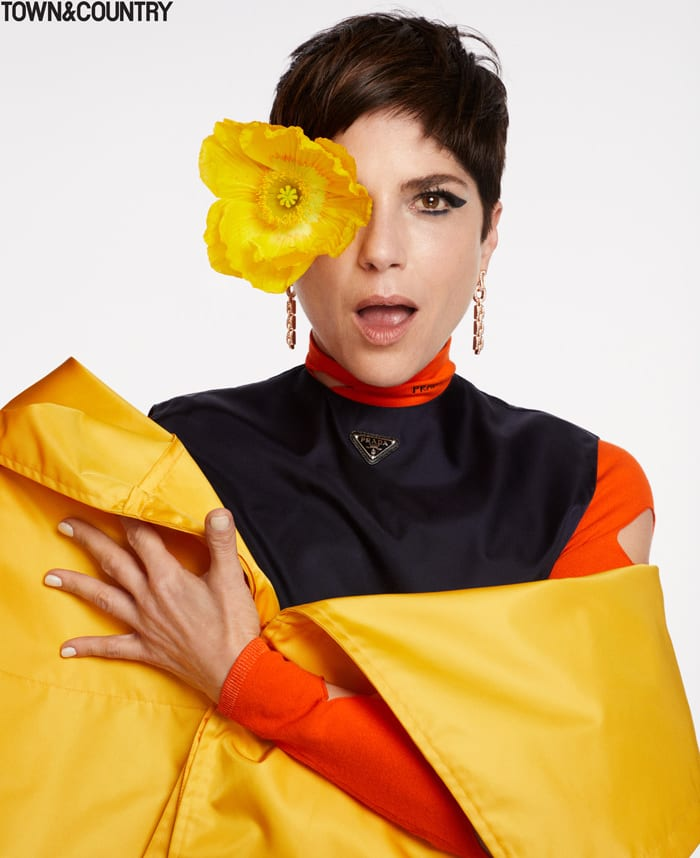 Selma Blair Town Country Magazine May 2021 Issue Fashion Style Tom Lorenzo Site 3 Symbolic Pics of the Month 06/21